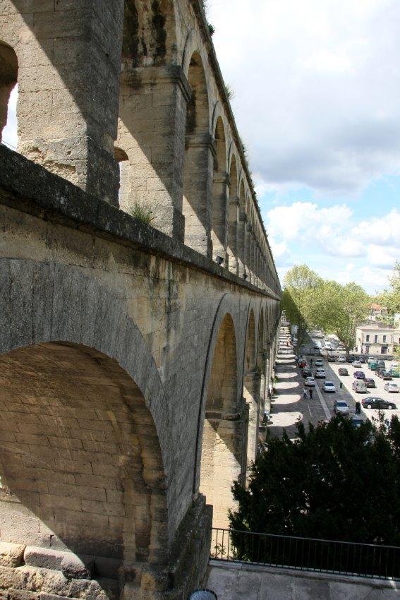 Aqueduc de Saint-Clément in Montpellier