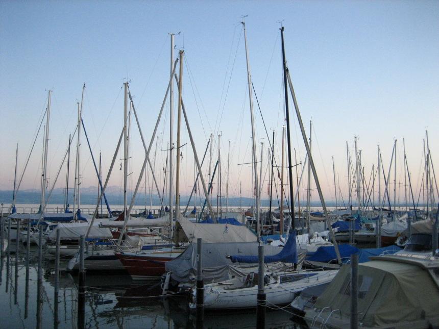Hafen in Friedrichtshafen