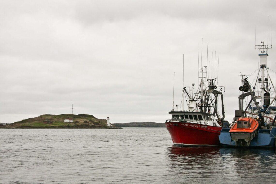 Hafen von Halifax. Nova Scotia, Schottland