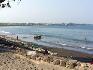 Strand von Sanur auf Bali