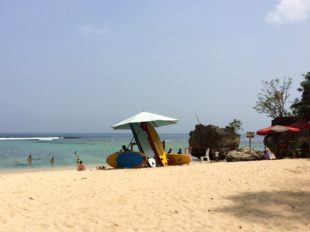 Strand von Padang Padang Beach