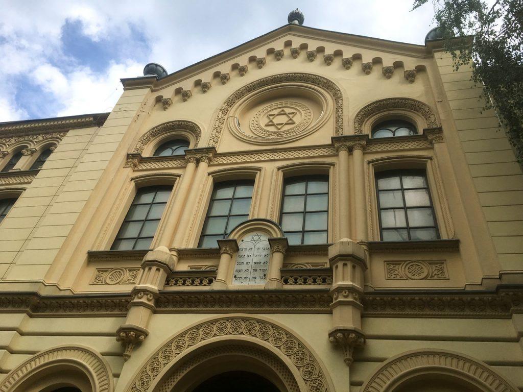 Synagoge in Warschau