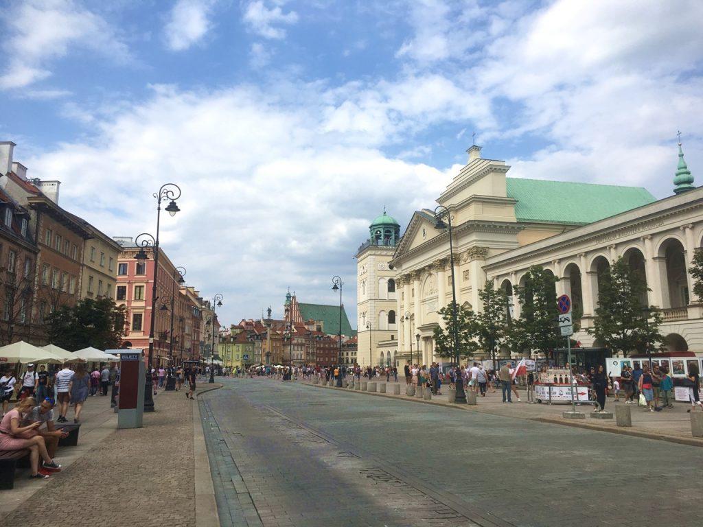 Warschauer Prachtstraße Ulica Krakowskie Przedmiescie