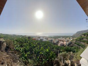 Ausblick vom Airbnb in Tazacorte