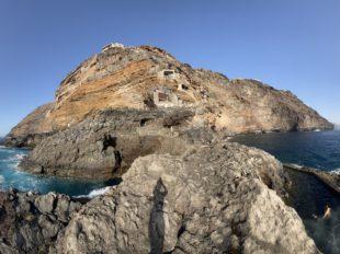 Der kleine Hafen von Puntagorda