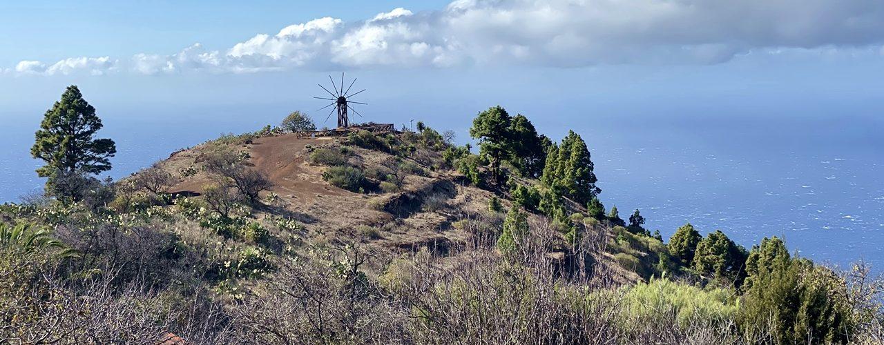 Die Gofio Mühle von Las Tricias