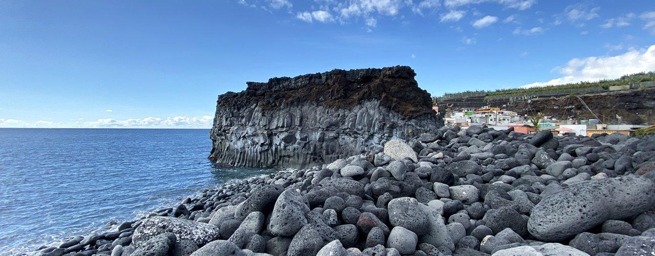 Playa de la Bombilla auf der kanarischen Insel La Palma