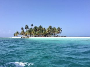 San Blas Insel in Panama