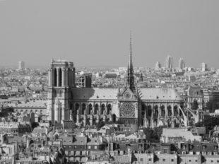 Notre-Dame de Paris vom Pantheon aus